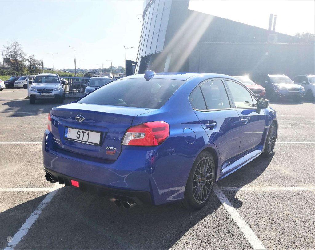 Subaru Impreza WRX STI Mėlynas