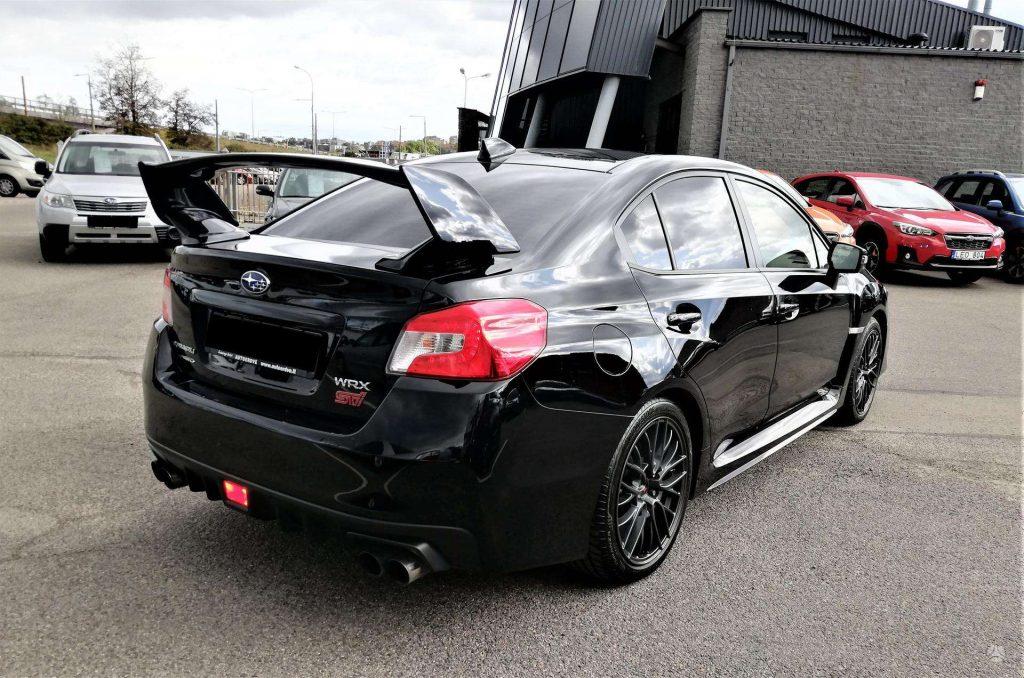 Subaru Impreza WRX STI Juodas